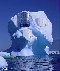 in the iceberg