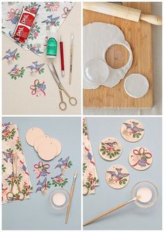 air dry clay tags via Merry Makings Magazine Trending Craft Ideas Using Paper Mache, Air Dry Clay, C Clay Ornaments, Diy Christmas Ornaments, Christmas Crafts, Fabric Ornaments, Christmas Ideas, Polymer Clay Crafts, Diy Clay, Trending Crafts, Paper Crafts