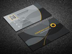 Gray Corporate Business Card #businesscards #businesscardtemplates #custombusinesscards