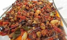 Recipe for eggplant pan - World Cuisine Turkish Recipes, Italian Recipes, Ethnic Recipes, Italian Chicken Dishes, Meat Recipes, Cooking Recipes, Eggplant Recipes, Recipe Sites, Iftar