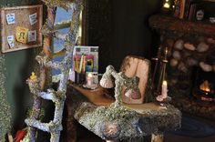 Fairy House Desk | Flickr - Photo Sharing!
