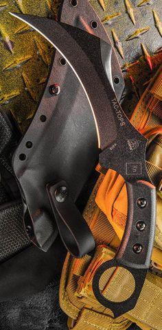 TOPS Knives TAC-TOPS Karambit Fixed Combat Blade Knife TAC-01 @aegisgears