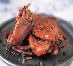 Black Pepper Sauce Crabs...Yes yes yes! Another awesome summer dish....it makes me happy!