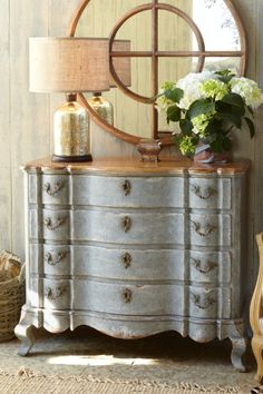 Holland Bay Chest - Old World Four Drawer Chest, Furniture, Home Decor | Soft Surroundings