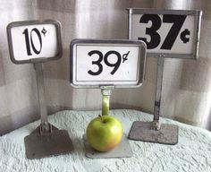Vintage Dime Store Display Price Sign