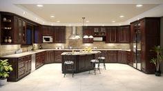 Adornus-boardwalk casual elegance. Our kitchen cabinets