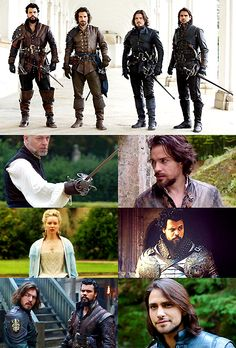 Source: kynikey on tumblr   The Musketeers Season 3 Roundup - Part...