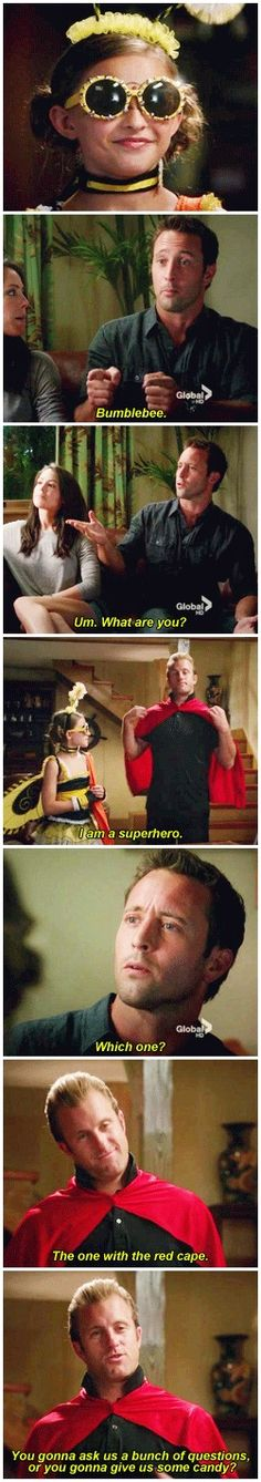 I just can't with this show's adorable halloween episodes   # STEVE MCGARRETT # DANNY WILLIAMS # 3.05