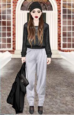 CuteRockybalboa #Stardoll #outfit #winterfashion