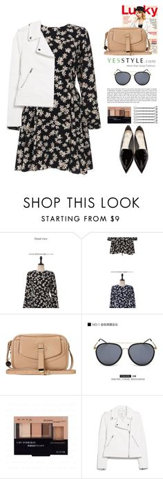 """""""Floral blossom S/S 2016"""" by yexyka ❤ liked on Polyvore featuring UPTOWNHOLIC, MANGO and Nicholas Kirkwood"""