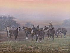 """AC - """"BRUMA"""" Rio Grande Do Sul, Equine Art, Western Art, Contemporary Paintings, Country Life, Cowboys, Westerns, Camel, Horses"""