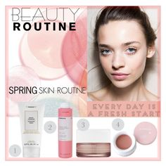 """Spring Beauty Routine"" by stavrolga ❤ liked on Polyvore featuring beauty, Korres, Lulu*s, Spring, polyvoreeditorial, polyvorecontest and beautyroutine"