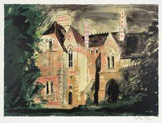 John Piper 'Milton Ernest', 1977 © The Piper Estate