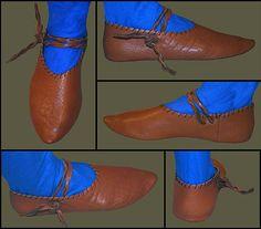 Medieval Clothing and Footwear- Premium Turnshoes
