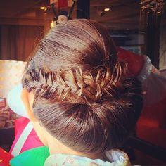 #セット #ヘアセット #アレンジ #ヘアアレンジ #結婚式 #和装 #和装髪型 #訪問着 #フィッシュボーン #maharo
