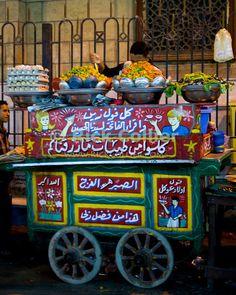 Comida de la calle Cairo