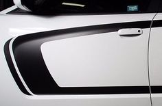 C-Stripe Side Graphic for Dodge Charger RT Kit Vinyl Decals Parts 2011+ BLACK