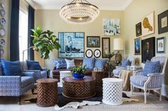 A look inside the NOLA design showhouse. #SouthernStyle
