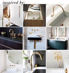best brass faucets_inspired by_brass grid  would love to do brass in the master bath