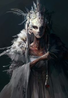 Artstation - gloriana, lily vonk dnd in 2019 Fantasy Rpg, Dark Fantasy Art, Dark Art, Fantasy Inspiration, Painting Inspiration, Character Inspiration, Fantasy Character Design, Character Art, Arte Horror