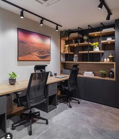 Study Room Design, Media Room Design, Home Room Design, Dream Home Design, House Design, Home Studio Setup, Home Office Setup, Home Office Space, Modern Home Offices