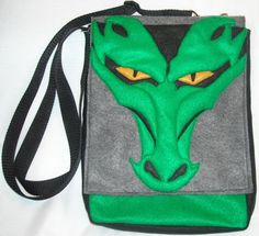 3D Dragon IPad Tablet Hip Bag Felt Made in USA. $40.00, via Etsy.