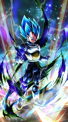 See images of Vegeta character from the Dragon Ball anime - And how it is done - - Dragon Ball Gt, Dragon Ball Image, Blue Dragon, Art Gundam, Foto Do Goku, Goku Wallpaper, Dragonball Wallpaper, Iphone Wallpaper, Animes Wallpapers