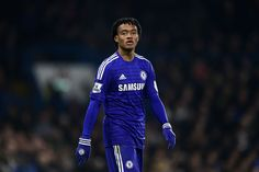 First start for Juan Cuadrado with Chelsea Chelsea Players, Chelsea Fans, Chelsea Football, West London, Football Jerseys, Motorcycle Jacket, Blues, Adidas, Sports