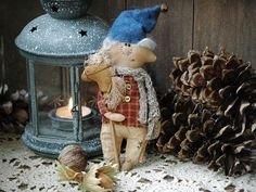 Primitive Gnome-Christmas Gnome-Christmas от RusticCraftsbySue