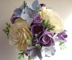 Clay bouquet