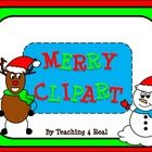 These are FREE clipart for you to use...created and designed by Teaching 4 Real!It is a zip file of 3 snowmen and 3 reindeer clipart for you to u...
