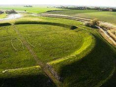 Kulturarvsstyrelsen - Verdensarv: The Viking Era's Trelleborg fortresses | ring fortresses | Denmark