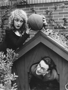 Mildred Davis and Harold Lloyd in Among Those Present, 1921