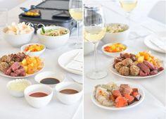 aziatisch gourmetten Fondue, Wok, Bon Appetit, Food Inspiration, Food And Drink, Party, Drinks, Nice, Gourmet