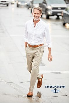 Khaki Pants Outfit Men Picture pin on style for him Khaki Pants Outfit Men. Here is Khaki Pants Outfit Men Picture for you. Khaki Pants Outfit Men 59 impressive what to wear with tan jeans guys. Khaki P. Travis Scott T Shirt, Khaki Pants Outfit, Casual Pants, Dress Casual, Casual Shirts, Fashion Fotografie, Dockers Pants, Shirt Tucked In, Herren Outfit