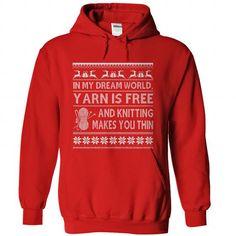 Knitting Makes You Thin - #white hoodie #harvard sweatshirt. SATISFACTION GUARANTEED  => https://www.sunfrog.com/Hobby/Knitting-Makes-You-Thin-Red-Hoodie.html?id=60505