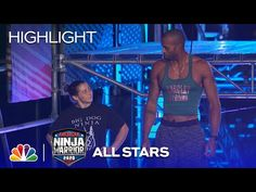 Barclay Stockett vs. Jody Avila: Striding Steps - American Ninja Warrior All-Star Special 2020 - YouTube American Ninja Warrior, How To Make Shorts, Big Dogs, All Star, Challenges, Stars, Youtube, Large Dogs, Sterne