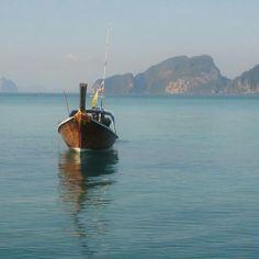 Longtail Boat at Koh Kradan,Trang