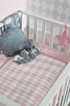 Jollein boxkleed *Wafel vintage* - BellyBloz - Baby & zwangerschap artikelen