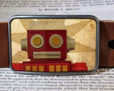 Hey, I found this really awesome Etsy listing at https://www.etsy.com/listing/71157043/robot-belt-buckle-vintage-inspired-208