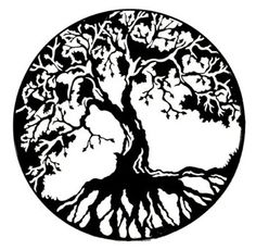 clip art treeline | Tree of Life Wall Art by Black Cat Artworks | Sticks Furniture, Home ...