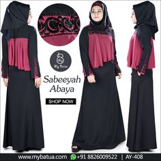 Feel the touch of trend and vogue at peak. Sabeeyah Abaya is another modest design from our collection. Check here: https://www.mybatua.com/sabeeyah-abaya #abaya #sabeeyahabaya #muslimahfashion #spring2018 #mybatua #muslimah #modestfashion #hijabista #ramadan2018