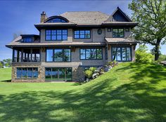 Lake Home in Lake Minnetonka, Minnesota, designed by Stonewood, LLC