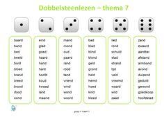 De spellingswoorden van thema 7 van Taal Actief groep 4 nog eens herhalen. Circuit, Blond Amsterdam, Summer School, Spelling, Homeschool, Language, Letters, Learning, Occupational Therapist