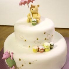 A great first birthday cake idea!