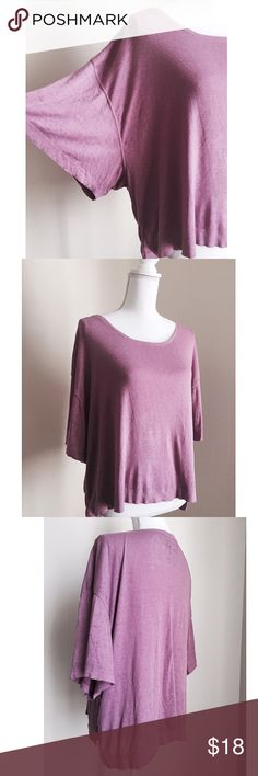 Free People Slouchy Tee ✨ Beautiful & soft Free People slouchy tee - Relaxed fit - Feels amazingly soft ⚜ Size S Free People Tops