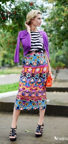 Modest doesn't mean frumpy. Dressing with Dignity! http://amzn.to/1qeVHv9