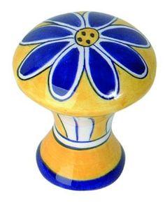 atlas homewares 2a100 1 34 inch blue daisy ceramic knob ceramic cabinet hardware gt cabinet pulls gt