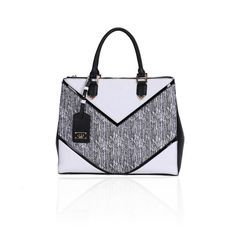 LYDC Tribeca Grande White Tote Bag Latest Handbags a7c2a144ba9f4