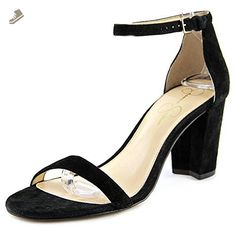 Jessica Simpson Women's Venya Dress Pump, Black, 7.5 M US